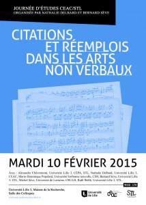 Affiche CEAC- Journée d'étude 10 février 2015